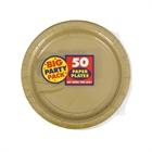 Gold Dessert Plates (50)