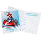 Mario Kart Wii Invitations (8)