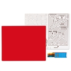 Red Activity Placemat Kit for 4