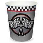 Racing 9 oz. Paper Cups (8)