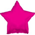 Hot Pink Star Foil Balloon