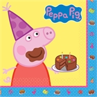 Peppa Pig Lunch Napkins (16)