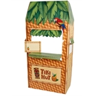 Jungle Party Tiki Hut Cardboard Cutout Standee - 5.5