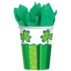 St. Patrick's Day Paper Cups (50)