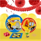 Construction Pals 16 Guest Tableware & Deco Kit