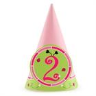 Ladybugs: Oh So Sweet 2nd Birthday Cone Hats (8)