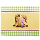 Pink Cowgirl Activity Placemats (4)