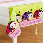 Ladybugs: Oh So Sweet Plastic Tablecover