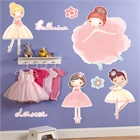 Ballerina Giant Wall Decals