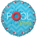 Pool Party Foil Balloon