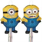 Minions Despicable Me - Shaped Pull-String Pinata (Assorted)