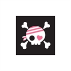 Pretty Pirates Party Beverage Napkins (20)