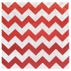 Red Chevron Lunch Napkins (20)
