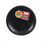 Black Dessert Plates (50)