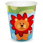 Safari Friends 9 oz. Paper Cups (8)