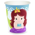 Mermaids 9 oz. Paper Cups (8)