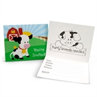 Barnyard Invitations (8)