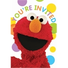 Sesame Street Party Invitations (8)