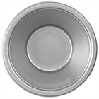 Silver Plastic Bowls (20)
