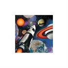 Space Blast Beverage Napkins (16)