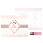 Ballerina Activity Placemat Kit