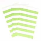 Lime Green Striped Paper Bags (15)