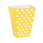 Yellow Dot Treat Boxes (8)