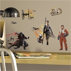 Star Wars VII Characters Peel and Stick Wall Decals