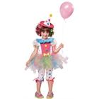 Rainbow Clown Toddler Costume