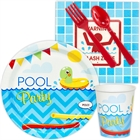 Pool Party Party Pack for 8