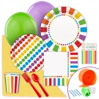 Rainbow Birthday Party Value Party Pack